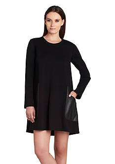 BCBGMAXAZRIA Farah Long Sleeve Dress
