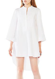 BCBGMAXAZRIA High Low Shirtdress