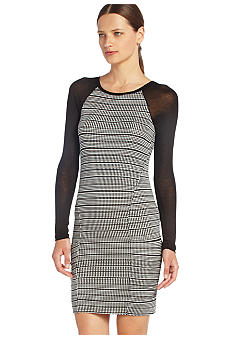 BCBGMAXAZRIA Stripe Knit Dress  - Belk.com