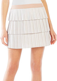 BCBGMAXAZRIA 'Zana' Tiered Pleated Skirt