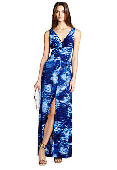 BCBGMAXAZRIA Printed Maxi Dress