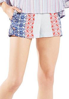 BCBGMAXAZRIA Ella Printed Soft Shorts