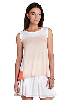 BCBGMAXAZRIA Allison Colorblock Tank