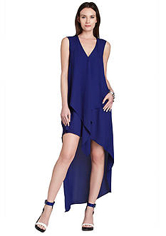 BCBGMAXAZRIA Tara High-Low Dress