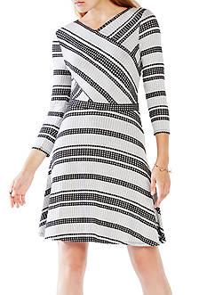 BCBGMAXAZRIA V-Neck Dress