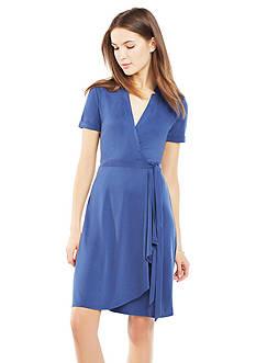 BCBGMAXAZRIA Izabell Wrap Dress