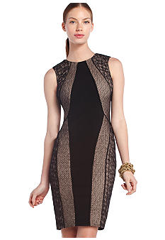 BCBGMAXAZRIA Jazelle Black Lace Dress