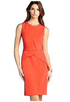 BCBGMAXAZRIA Pieced Sheath Dress