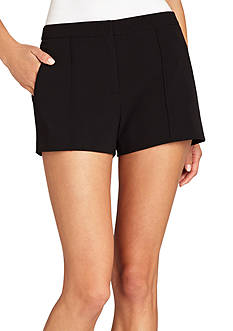 BCBGMAXAZRIA Pleated Front Knit Short