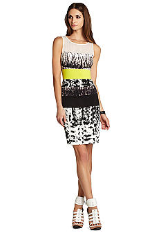 BCBGMAXAZRIA Tara Fitted Sleeveless Dress