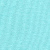 Alfred Dunner Women Sale: Aqua Alfred Dunner Classics Short Sleeve Solid Necklace Shell Sweater