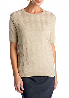 Alfred Dunner Classics Solid Sweater Shell