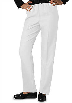 Alfred Dunner Plus Size Classic Pull On Pant (Average & Short)