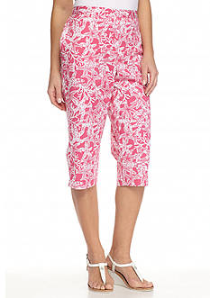 Alfred Dunner Acapulco Starfish Capris
