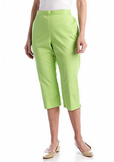 Alfred Dunner Fresh Picked Embroidered Capri