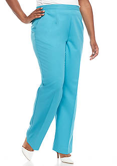 Alfred Dunner Plus Size Cozumel Proportioned Pants