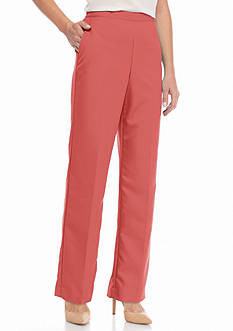 Alfred Dunner Petite Cozumel Proportioned Pants
