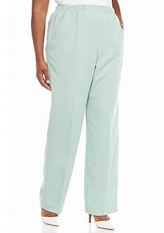 Alfred Dunner Plus Size Savannah Proportioned Pants