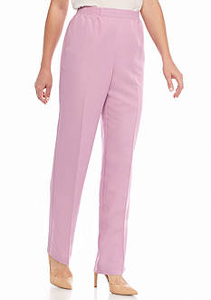 Alfred Dunner Petite Savannah Proportioned Pants