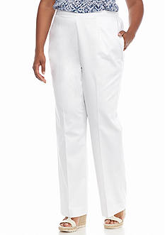 Alfred Dunner Plus Size Sap Paolo Proportioned Short Pants