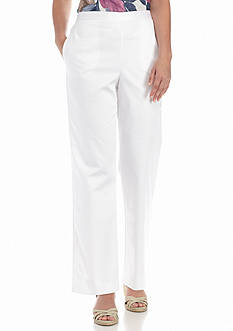 Alfred Dunner Petite Sao Paolo Proportioned Pants