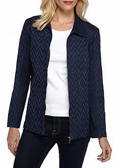 Alfred Dunner Sierra Madre Denim Jacket