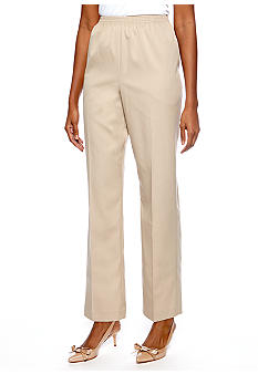 Alfred Dunner Valencia Proportioned Short Pull On Pant
