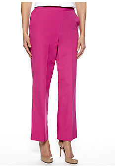 Alfred Dunner Laguna Beach Pull On Pant Average Inseam