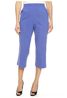 Alfred Dunner Color Splash Capri