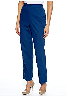 Alfred Dunner Cool Breeze Pull On Pant Short Inseam
