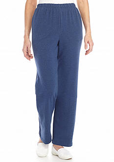 Alfred Dunner Cape French Terry Pant Short