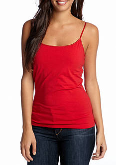 New Directions Weekend EDV Solid Shelf Cami