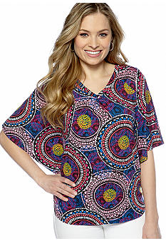 New Directions Weekend Circle Body Top