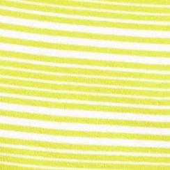 Women's T-shirts: Lime Stripe New Directions Weekend Stripe Scoop Tee