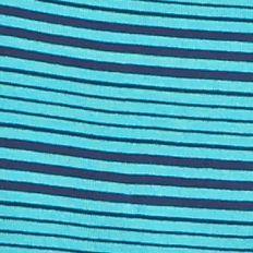 Women's T-shirts: Turq Stripe New Directions Weekend Stripe Scoop Tee