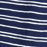 New Directions Weekend Women Sale: Navy Aztec New Directions Weekend Aztec High Low Tee