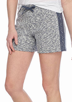 New Directions Weekend Side Crochet Shorts