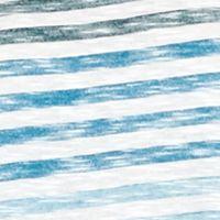 Women: New Directions Dresses: Blue Stripe New Directions Ombre Stripe Swing Tee Dress
