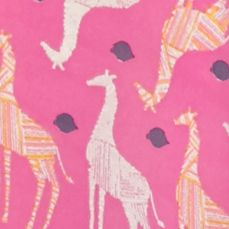 New Directions Women Sale: Pink Combo New Directions Giraffe Print Woven Top