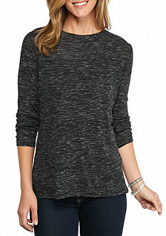 New Directions Weekend Side Slit Tunic