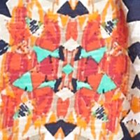 New Directions Weekend Women's Plus Sale: Warm Aztec New Directions Weekend Plus Size Fringe Hem Top