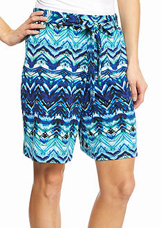 New Directions Chevron Sash Shorts