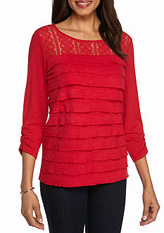 Womens Red Tops | Belk