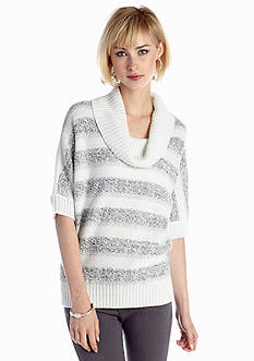 New Directions® Textured Stripe Sweater