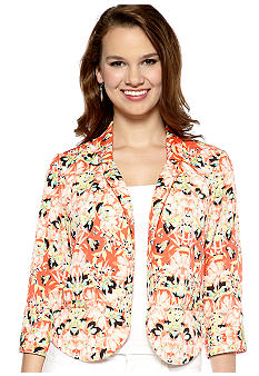 New Directions Three Quarter Sleeve Soft Jacket