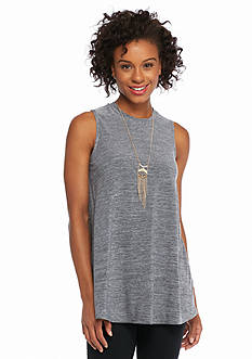 New Directions Malone Swing Top with Necklace