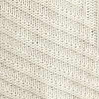 New Directions Women Sale: Oatmeal New Directions Cowl Neckline Ribbed Sharkbite Sweater