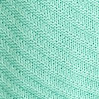 New Directions Women Sale: Mint New Directions Cowl Neckline Ribbed Sharkbite Sweater
