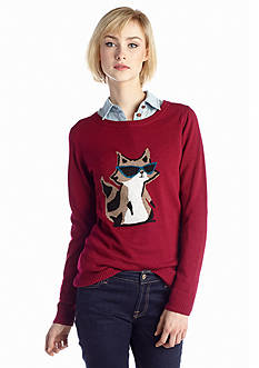 New Directions® Shady Raccoon Sweater