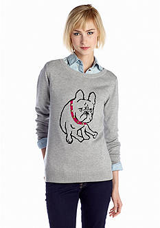 New Directions® Bull Dog Sweater